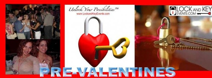 Tampa Pre-Valentine Lock and Key Singles Party at Cheap