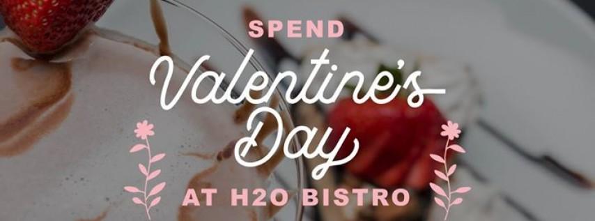Valentine's Day Dinner at H2O Bistro