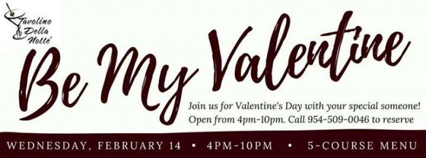 Valentine's Day Dinner at Tavolino Della Notte