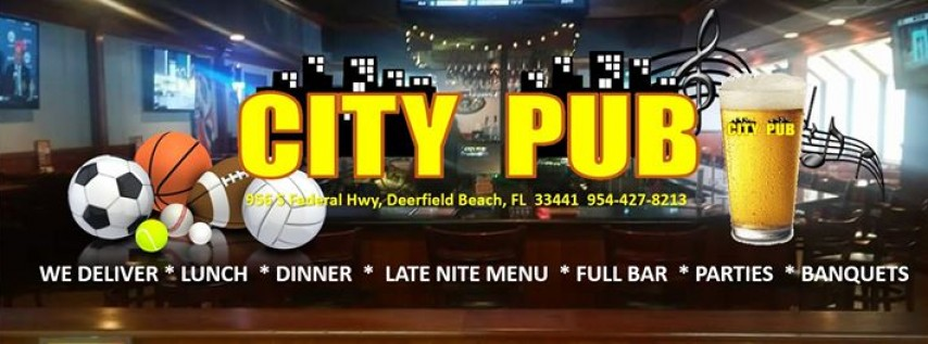 Valentine's Day Party at the City Pub