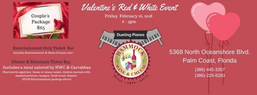 Valentines Party at Hammock Wine