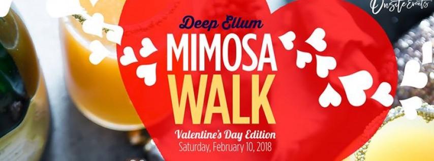 Deep Ellum Mimosa Walk: Valentine's Day Edition