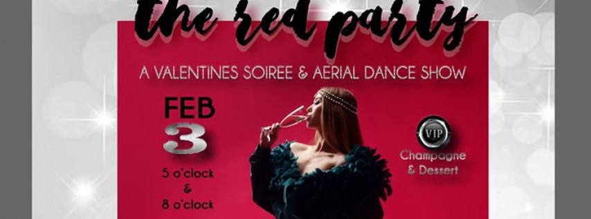 The Red Party 8pm - A Valentine's Soiree & Aerial Dance Show