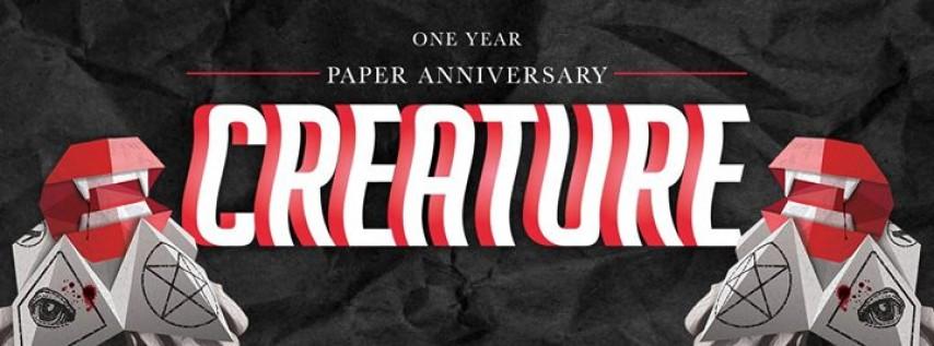 Creature XIII: Paper Anniversary // FEB. 16