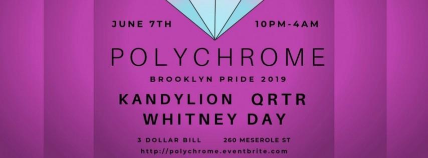 △▼Polychrome▼△ Brooklyn Pride