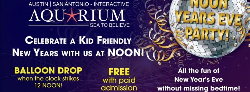 San Antonio Aquarium Noon Years Eve Celebration