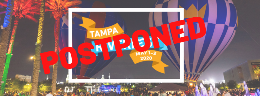 POSTPONED - Tampa Riverfest 2020