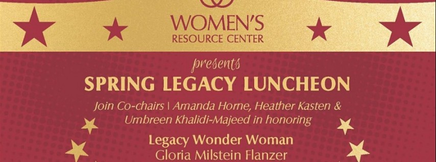 2020 Spring Legacy Luncheon