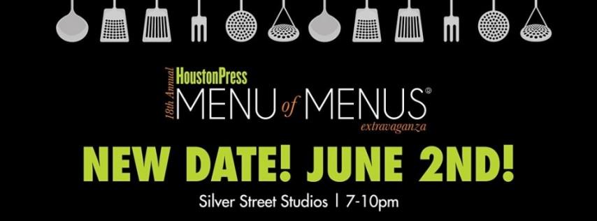 Houston Press Menu of Menus Extravaganza
