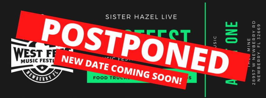 Postponed - WestFest Music Festival
