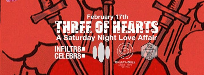 Three of Hearts feat DJ Three and Blackplate (Live)