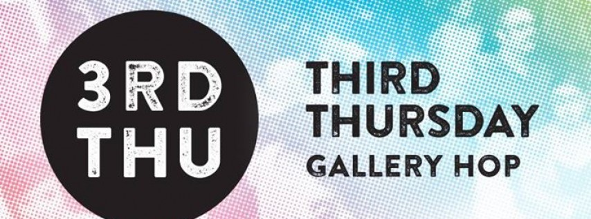 3rd Thursday Gallery Hop