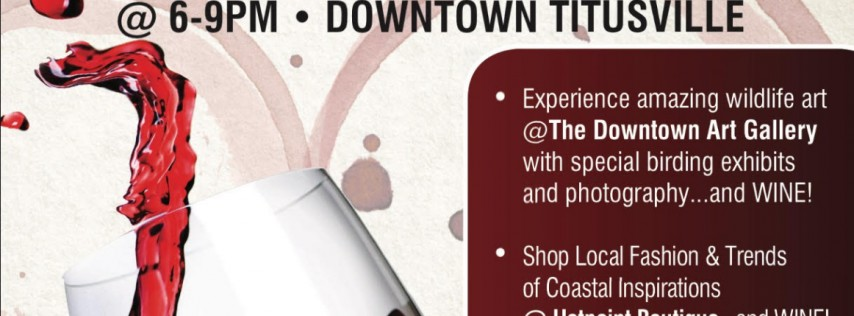 Wine & Waffles Event in Downtown Titusville