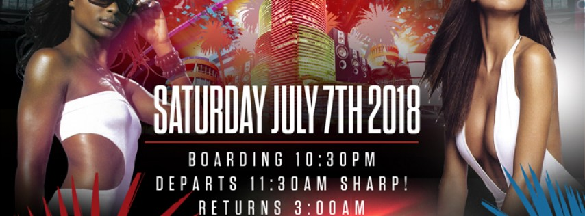 MIAMI NICE 2018 ANNUAL MIAMI 4TH OF JULY INDEPENDENCE DAY WEEKEND ALL WHITE YACHT PARTY