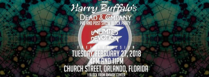 Dead and Co Pre and Post Show Orlando Block Party