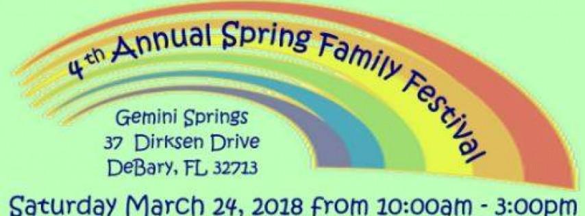 4th Annual Spring Family Festival