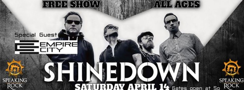 Shinedown LIVE at The Rock!
