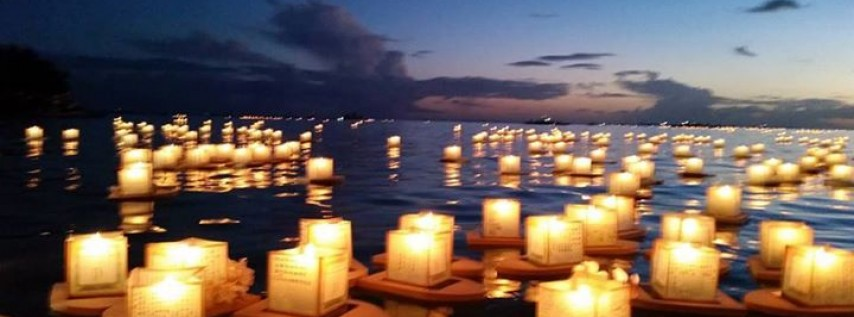 Annual Lantern Floating Hawaii Ceremony