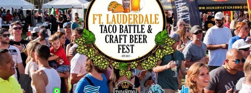 FTL Taco Battle & Craft Beer Fest 2018 Sponsored by Tabañero