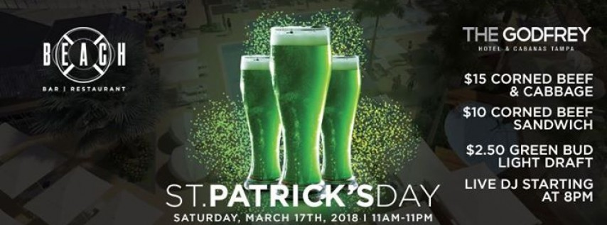 St. Patrick's Day at Beach