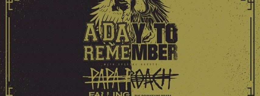 A Day To Remember - 15 Years In The Making Tour