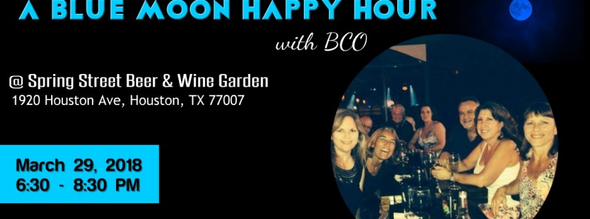 Almost a Blue Moon Happy Hour with BCO