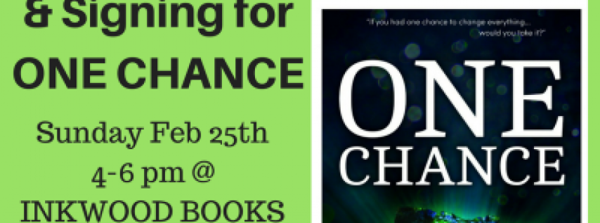 Sarah Frank, Tampa teen author of ONE CHANCE, Book Talk and Signing event: FREE