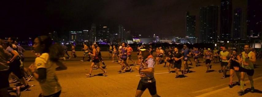 2019 Fitbit Miami Marathon & Half Marathon