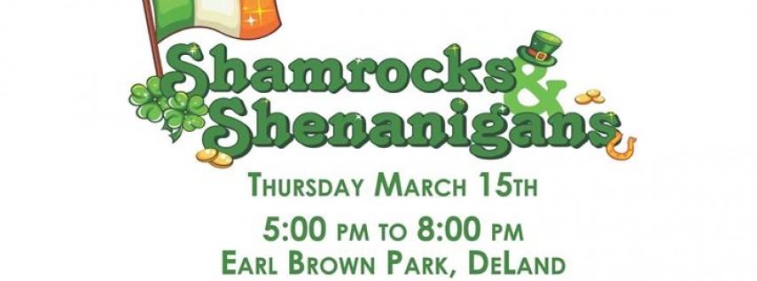 Shamrocks & Shenanigans - Cook Off and Celtic Band