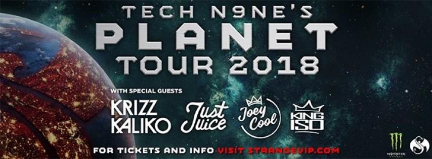 Minneapolis, MN - Tech N9ne's Planet Tour 2018