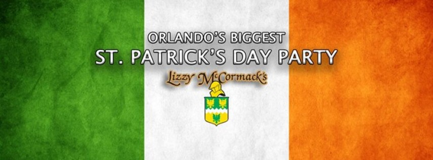 St. Patrick's Day Party at Lizzy's!