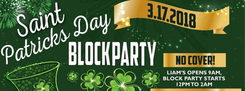 Liam's St. Patrick's Day Block Party