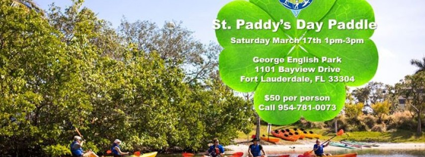 St. Paddy's Day Paddle Tour