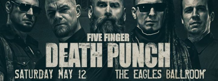 Five Finger Death Punch at The Rave [SOLD OUT]