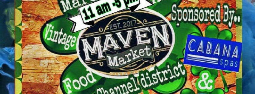 Maven Market Channel District St. Paddy's Style!