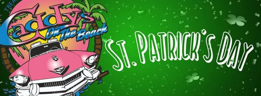 St. Patrick's Day 2018 at Caddy's on the Beach