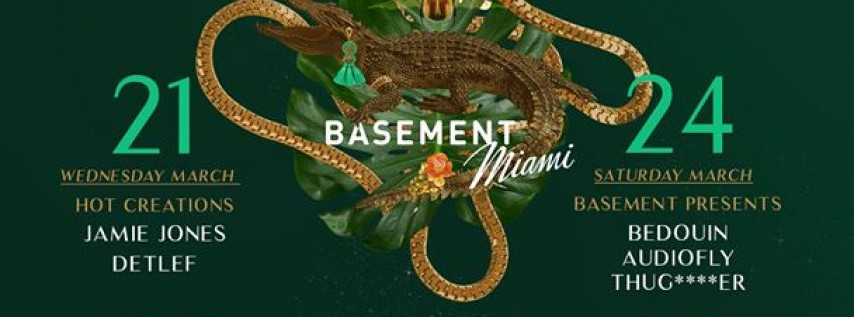 Miami Music Week at Basement