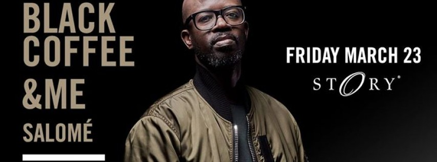 Black Coffee Miami Music Week - Fri. March 23rd