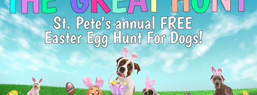 The Great Hunt! St. Pete's Easter Egg Hunt for Dogs!