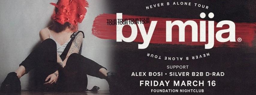 Mija's Never B Alone Tour at Foundation Nightclub