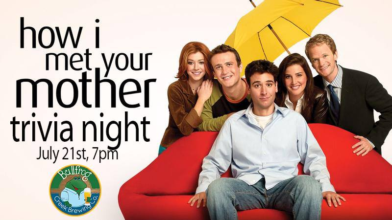 How I Met Your Mother Trivia Night