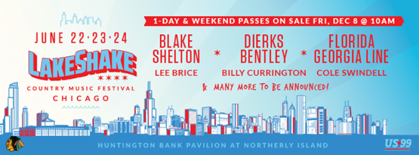 Country LakeShake Festival 2018