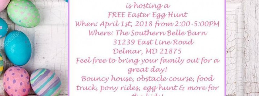 Free Easter Egg Hunt at the Southern Belle