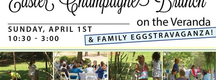 Easter Champagne Brunch & Family Eggstravaganza!