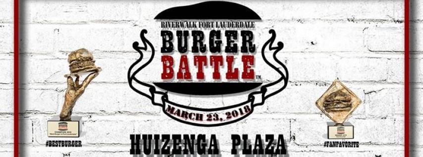 Riverwalk Fort Lauderdale Burger Battle™ IX