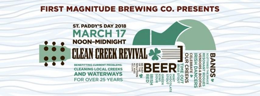 St. Patrick's Day & Clean Creek Revival!