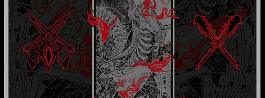 Nexul, Caveman Cult, Rot in Coffins, Dozier at The Atlantic