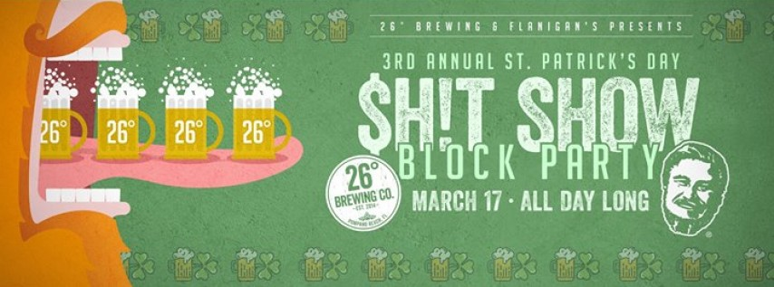 St. Paddy's Day $H!T SHOW 2018
