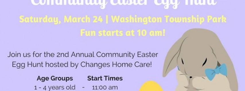 Easter Egg Hunt by Changes Home Care