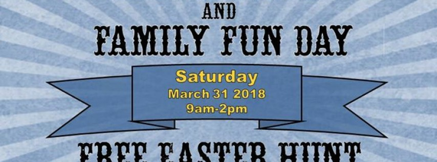28th Annual Easter Egg Hunt & 8th Annual Family Fun Day